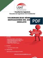 Vulnerabilidad Sismica en las Edificaciones de Chiclayo