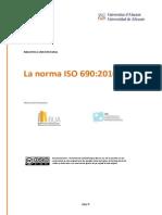 Norma ISO Doctorado