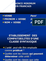 Enonce Minimum Et Nom en Français