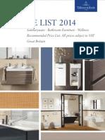 Villeroy Boch Pricelist 2014 GB