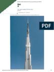 Structural design of Burj Khalifa