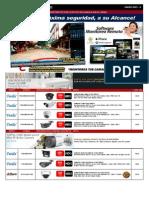 Lista de Precios Cctv Analogo FVR