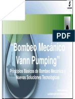 Bombeo Mecánico (Vann Pumping)