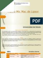 Matriz Mic Mac de Lipsor, Daniel Calles y Jose Oropeza
