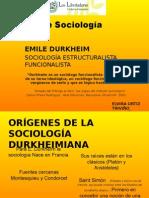 Taller Emile Durkheim