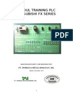 Modul Training Plc Mitsubishi Fx Series