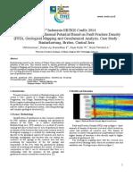 Papper Panas Bumi Daerah Bantarkawung menggunakan metode FFD, Geokimia, & Geologi