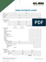 Field Tank Lining Shop Tank Lining Estimate