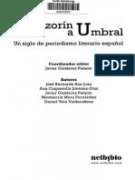 Periodismo Literario en España, De Azorín a Umbral