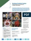 WEG Brushless Excitation System Series Parallel Redundancy Usa10024 Brochure English