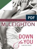 M. Leighton - the Bad Boys 1 La Decision de Olivia