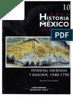 """Bernardo García Martínez, """"Estancias, Haciendas y Ranchos. 1540-1750"""""""