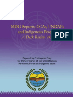 MDG Reports, CCAs, UNDAFs & Indigenous Peoples 2010