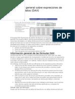 Formulas DAX Excel