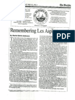 Remembering Les Aspin
