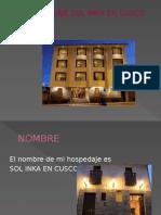 Proyecto Hotelero  Velasco Astete cusco