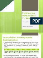 Wk5 Lagrangian Polynomials