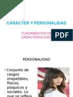 Carácter y Personalidad