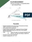 Angular Measurement 2014