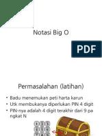 Notasi Big O