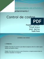 Control de Costos 1