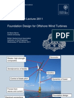 2011 Foundation Design for Offshore Wind
