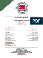 SSI Contact Sheet