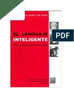 El Lenguaje Inteligente; La Lógica Del Lenguaje - Lorenzo De Anda