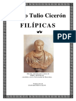 Ciceron - Filipicas(1)