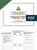 Perancangan Strategik Puteri Islam 2014