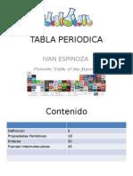 tabla periodica moderna