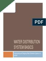 Water Distribution Basic
