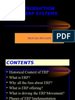 Introduction to ERP Systems