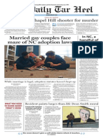 The Daily Tar Heel for Feb. 17, 2015