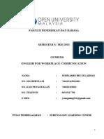 Assignment Oumh2203 - Subi