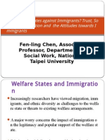 Who discriminates against Immigrants? Trust, Social  Categorization and  the Attitudes towards Immigrants