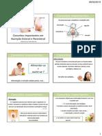 Conceitos Importantes Em Nutricao Enteral e Parenteral