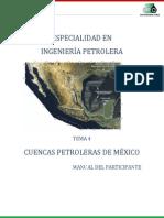 T4Cuencas Petroleras de México