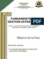 Fundamento de Gestion Estrategica Sesion 1