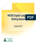 2012 DSE Detailed Explanation on Papers