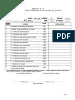 Calendarizacion y Practicas Qo II Iq