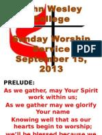 For Sunday Service, JWC.pptx