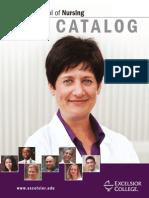 Excelsior School of Nursing Catalog