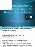 Representación y Expansión Del Territorio Nacional