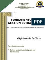 Fundamento de Gestion Estrategica Sesion 3