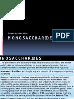monosaccharides lecture