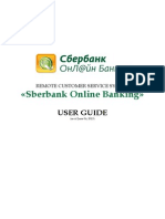Sber Bank User Guide