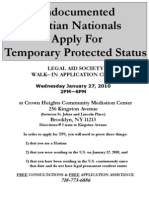 Undocumented Haitian Nationals Apply for Temporary Protected