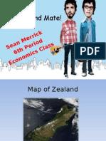 New Zealand General Information Power Point Presentation