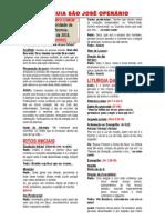 Missa - 5 Dom Tempo Comum - Ano b - 2015 Folha